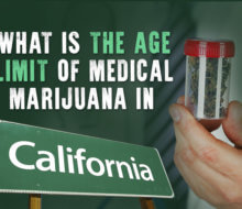 what is the age limit of medical marijuana in california